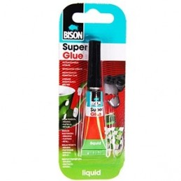 BISON Klijai Super Glue, 3...