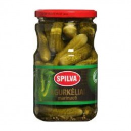 Marinuoti agurkėliai Spilva...