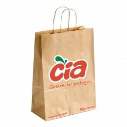 Popierinis pirkinių krepšys...
