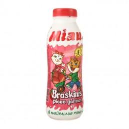 Pieno gėrimas MIAU braškių...